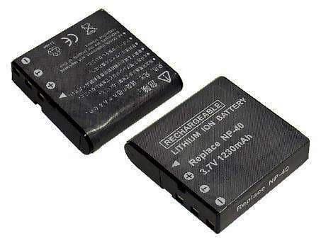 Casio NP-40 1230mAh utángyártott akkumulátor