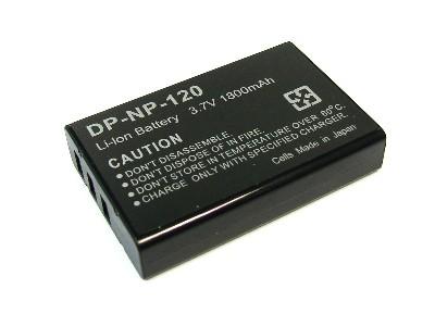 Fuji NP-120 1800mAh utángyártott akkumulátor