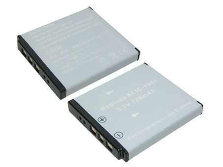 Kodak KLIC-7001 720mAh utángyártott akkumulátor