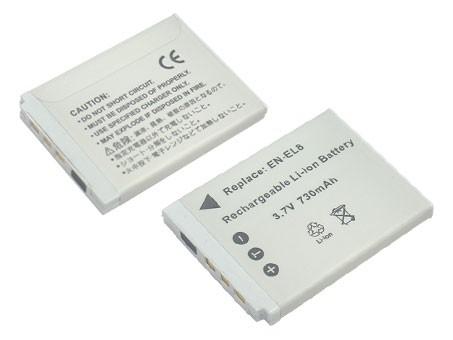 Nikon EN-EL8 650mAh utángyártott akkumulátor