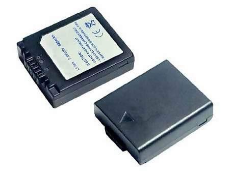 Panasonic CGA-S002 720mAh utángyártott akkumulátor