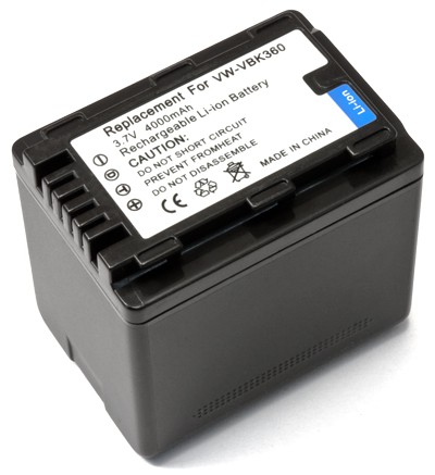Panasonic VW-VBK360 3440mAh utángyártott akkumlátor