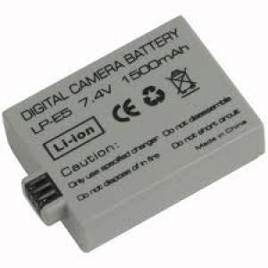Canon LP-E5 800mAh utángyártott akkumulátor
