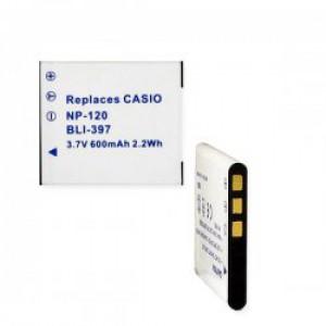 Casio NP-120 630mAh utángyártott akkumulátor