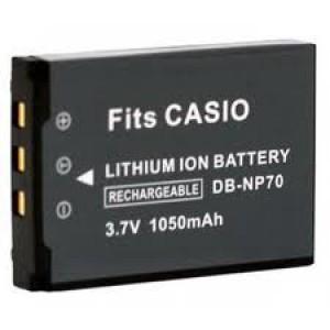Casio NP-70 1050mAh utángyártott akkumulátor